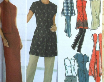 Dress, Tunic, Top, Pants, and Skirt Sewing Pattern UNCUT Simplicity 5589 Sizes 8-14
