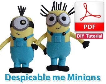 Despicable Me Minions PDF Tutorial INSTANT DOWNLOAD