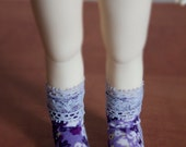 Cute socks for YoSD tiny super dollfie dolls volks bluefairy luts soom