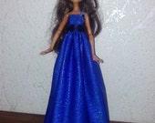 Sew handmade dress for Monster High dolls