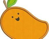 Happy Fruit MANGO Applique