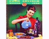 "Vintage 1940 SEALTEST COOKBOOK -  ""Food Adviser Winter 1940"""
