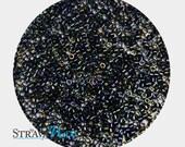 DB-0002 11/0 Miyuki Delica Seed Beads - midnight blue seed beads - metallic rainbow iris beads - round cylinder seed beads