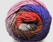 Noro Kureyon Purple Red Lavender Grey Black Wool Yarn Per Skein 340 Lot A