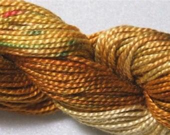 Hand Painted Pearl Cotton #12 Painters Threads Tentakulum Germany- Klimt 106