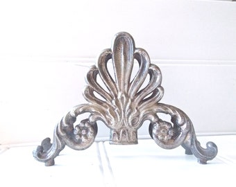 Wedding Table Antique French Silver plate Knife Rest Caddy Napkin Holder
