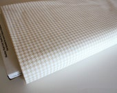 Muslin Mates by Moda Fabrics, Mates Houndstooth Natural 1/2 yard total