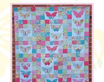 Flutter By Butterfly Quilt Pattern