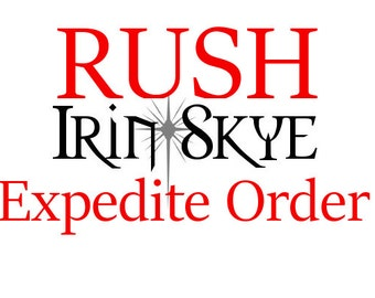 Rush Order Fee - For purchases of 1-3 Items ONLY - Production/Processing Time of 1 or 2 Business Days