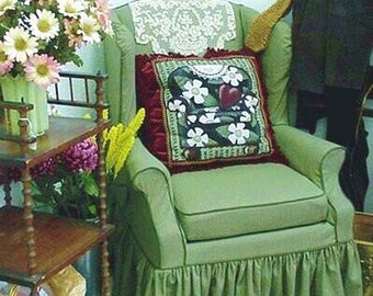 Instant Download! Wing Chair slipcover instructions