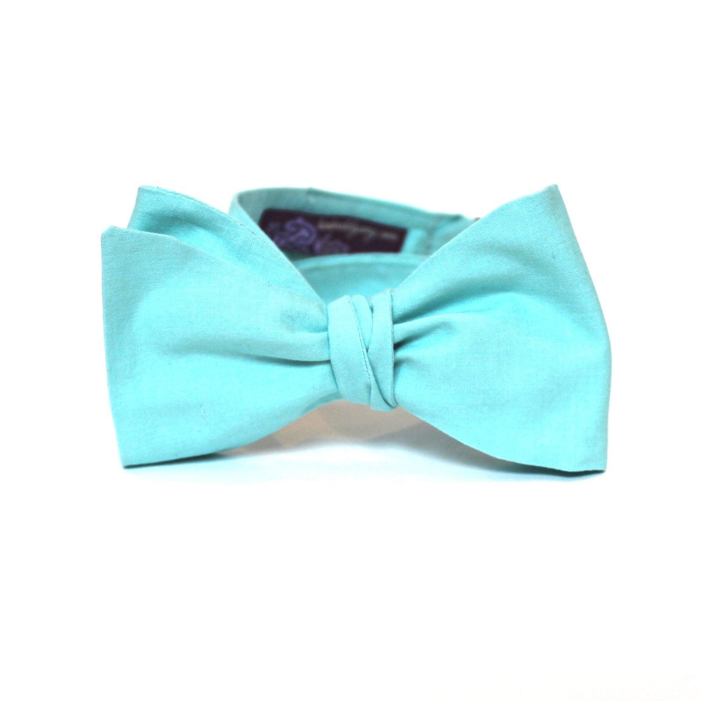 s bow tie fresh mint bowtie freestyle self tie