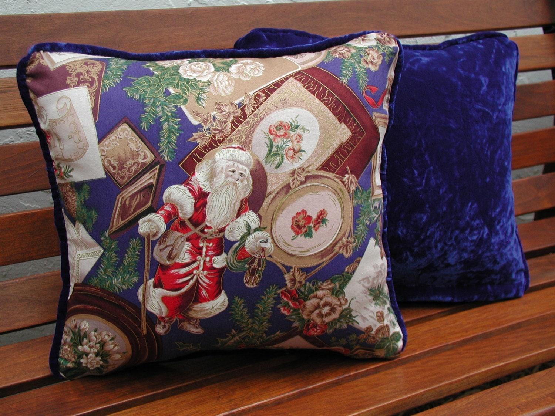 Christmas Pillows Decorative Throw Pillow Set Victorian