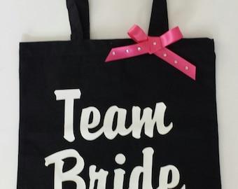 Team Bride Swag Bags