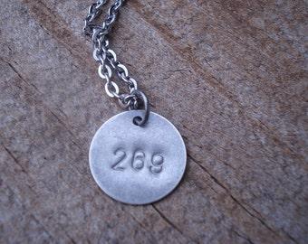 269 Life 269 Calf Awareness Vegan Necklace