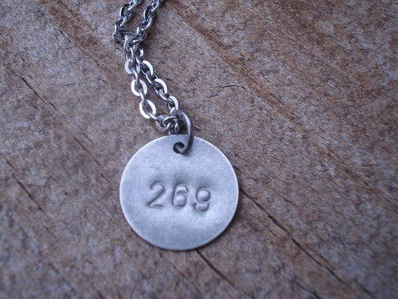 269 life 269 calf vegan necklace by lavorodesigns on etsy for Vegan tattoo 269