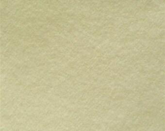Organic Cotton FLEECE- Birch-CREAM