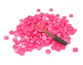 PInk sealing wax 4 sticks or beads type