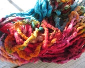 Circus Act  HandSpun and Hand Dyed Yarn