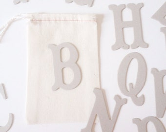Classic Chipboard Letters A-Z