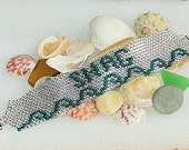 Shag Bracelet Beaded Crystal