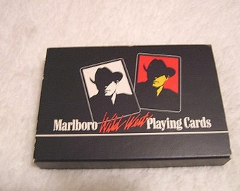 1991 Marlboro Wildwest Playing Cards