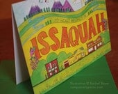My Heart Belongs in Issaquah Card - Camp Smartypants exclusive for So There  (CSW900)