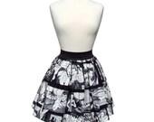 Comic Strip Retro Inspired Skirt