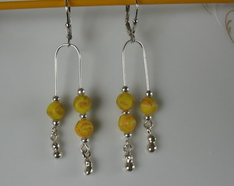 dangle earrings-sterlings silver dangle earrings
