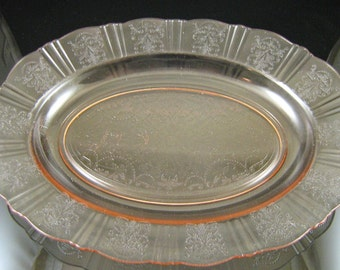 American Sweetheart Pink Oval Platter(s) (2 Available)