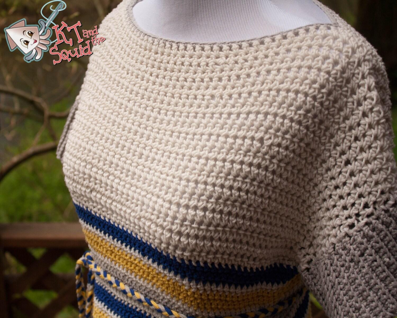 Crochet Patterns For Ladies Tops : Crochet pattern ladies summer tunic crochet womens top