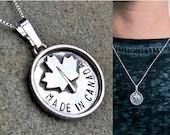 Made in Canada Pendant