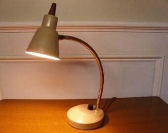 Vintage 1960's  Flex Neck Lamp