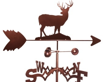 Hand Made Deer Buck Weathervane NEW