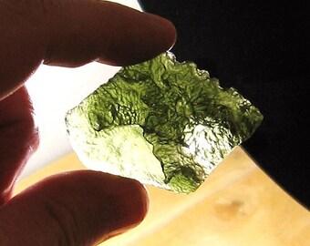 Very Rare Moldavite Specimen   BMD03