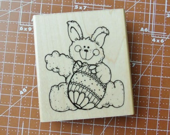 The Easter Bunny Rubber Stamp by TRL Design Co.