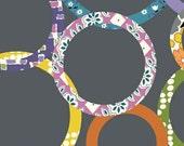 Windham Fabric's Downtown Rings (Grey) 37079-2 1 yard