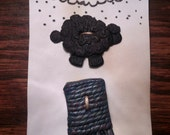 Knitter's Duo - Rainy Day Buttons