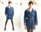 Barn Jacket  //  Chore Coat  //  Long Denim Jacket  //   THE STAMPEDE