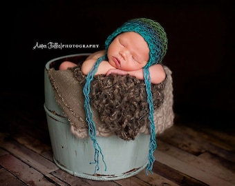 Knitted baby hat, multicolored,  Knit baby hat, newborn photo prop, baby bonnet, accessory, baby shower gift