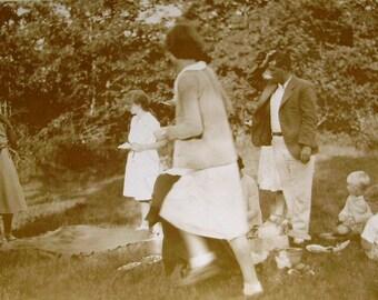 Vintage Photograph - A Summer Picnic