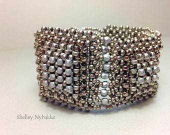 Baby, You're So Square Bracelet Cuff  - pdf Instructions ONLY