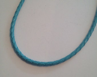 Turquoise Braided Cord