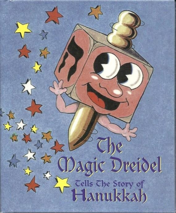 Personalized Book Jewish Hanukkah Children's Book Magic Dreidel ships in 24 hours