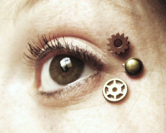 Steampunk Eye Decals