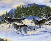 Wild Run Wolves - Elizabeth Studios - Fat Quarter