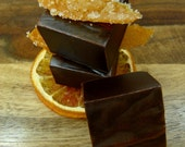 Grand Marnier Imported Chocolate Caramels - artisan batch, handmade candies