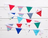 Red Blue Green Mini Good WIll Bunting
