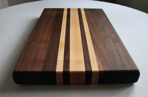 Walnut & Maple Cutting Board