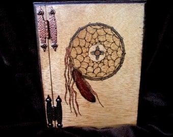Hand Made Wooden Journal