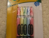 Crayola crayon birthday cake candles . . . price is for one (1) package of 10 candles